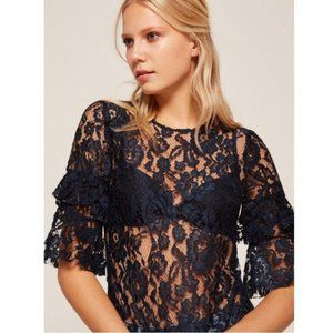 [Reformation] Lace Top